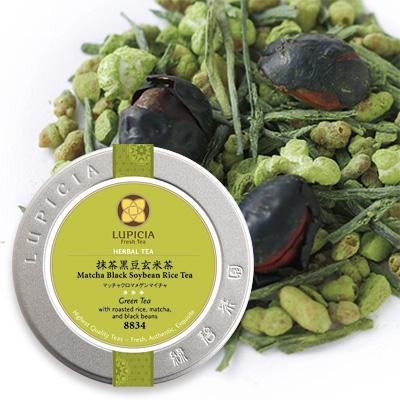 抹茶黒豆玄米茶 - 50g S 缶入