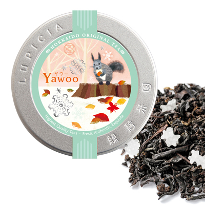 YAWOO 50g 北海道地区限定デザインラベル缶入