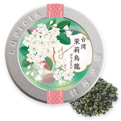 台湾ジャスミン烏龍 40gデザイン缶入