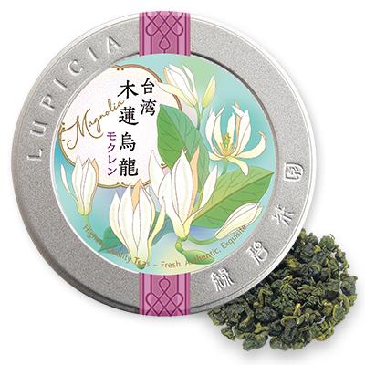 台湾モクレン烏龍 40gデザイン缶入