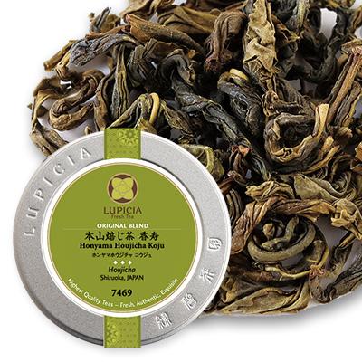 本山焙じ茶 香寿 - 40g M 缶入
