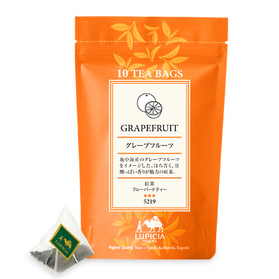 5219 グレープフルーツ (紅茶) ティーバッグ10個 パック入