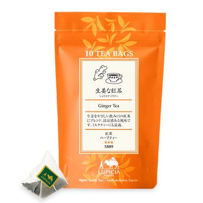 5809 生姜な紅茶 ティーバッグ10個 入パック