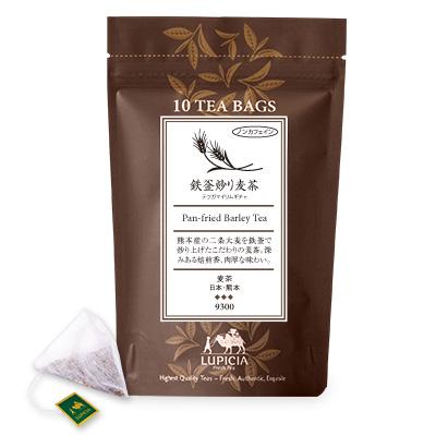 9300 鉄釜炒り麦茶 ティーバッグ10個パック入