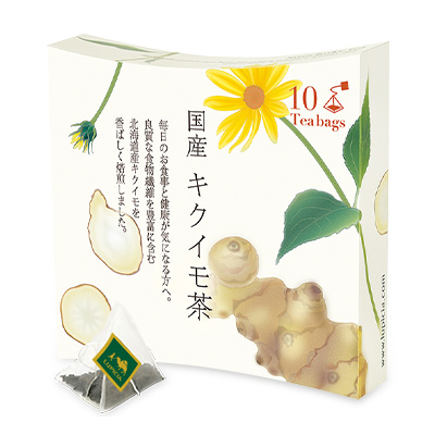 9712 国産 キクイモ茶 ティーバッグ10個入