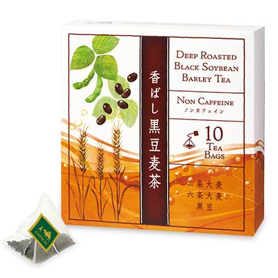 香ばし黒豆麦茶 ティーバッグ10個BOX入