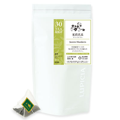 【大容量】 茉莉花茶 ティーバッグ30個パック入