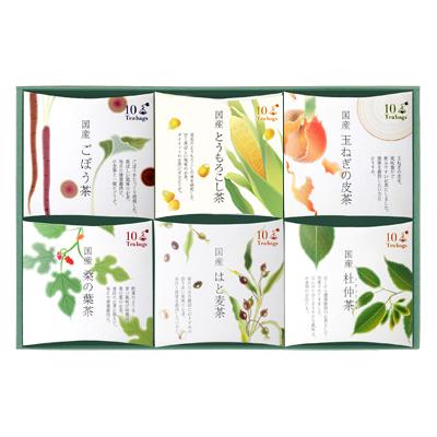 国産 健康野菜茶詰め合わせ(6種)