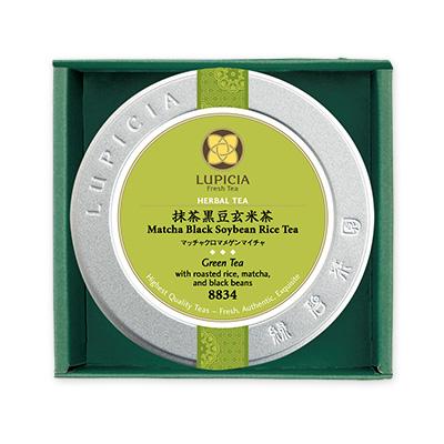 【弔事用ギフト】抹茶黒豆玄米茶 1缶箱入