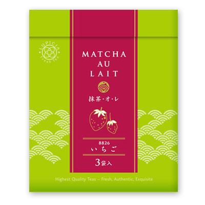 8826 抹茶・オ・レ いちご 3個セット