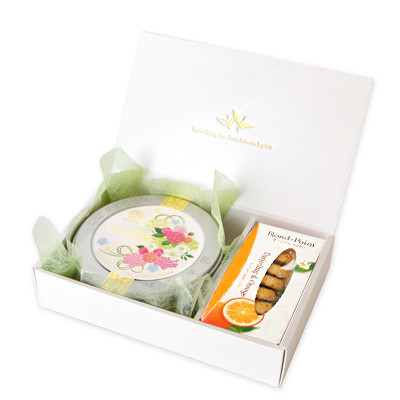 5503 WEDDING 50g缶 (ブーケ・ローズ) & ロンポワン (ダージリン&オレンジ)