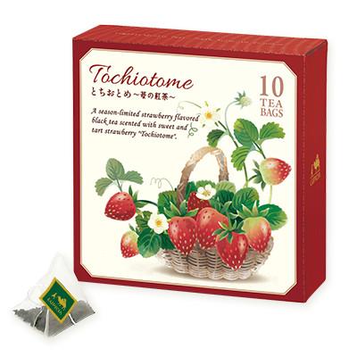 5254 とちおとめ 〜苺の紅茶〜 ティーバッグ 10個デザインBOX入