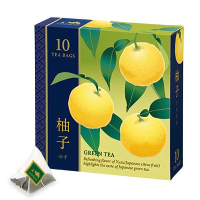 柚子 ティーバッグ10個限定デザインBOX入