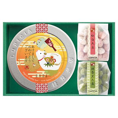 ◆日本茶とお菓子「初夢(はつゆめ)」