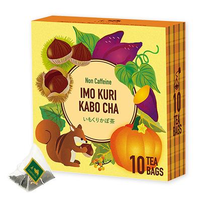 いもくりかぼ茶 ティーバッグ10個限定デザインBOX入