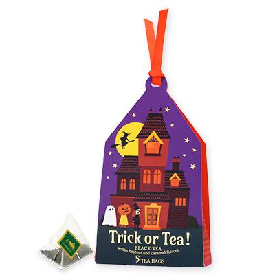 Trick or Tea! ティーバッグ5個限定デザインBOX入(パープル)
