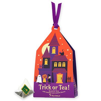 Trick or Tea! ティーバッグ5個限定デザインBOX入(オレンジ)