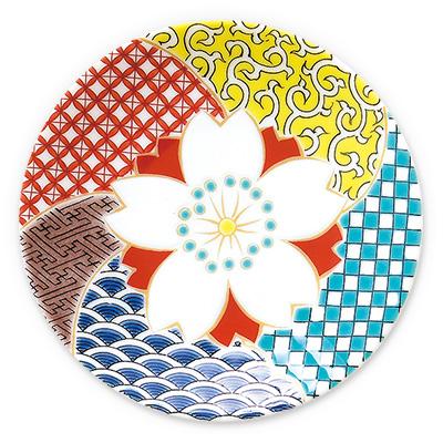 オリジナル 豆皿 桜江戸千代紙