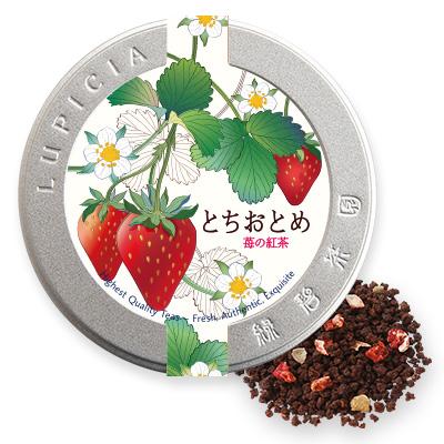 とちおとめ 〜苺の紅茶〜 50gデザイン缶入