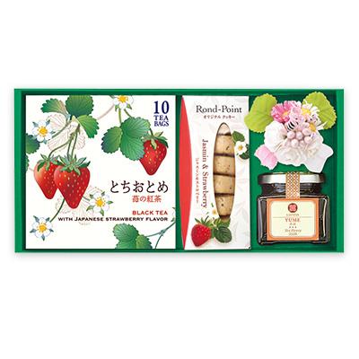 紅茶とスイーツ「春苺(はるいちご)」