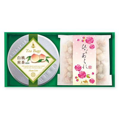 緑茶とスイーツ「雛あそび」