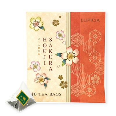 さくら焙じ茶 ティーバッグ10個限定パッケージ入