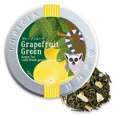 グレープフルーツ(緑茶) 50g限定デザイン缶入