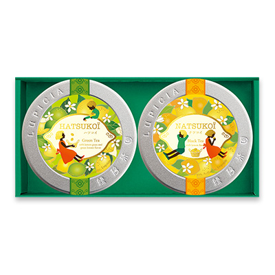 緑茶と紅茶「シトロニエ」