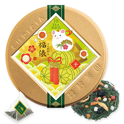 8851 福俵 ティーバッグ10個限定デザイン缶入