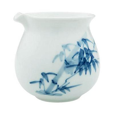 白磁 茶海 青花
