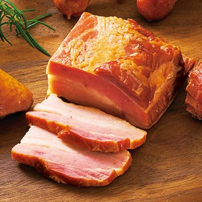 道産豚バラ肉のベーコン