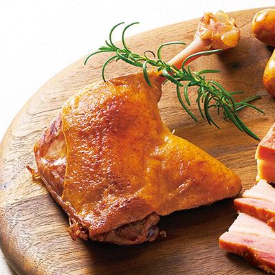 骨付き鴨もも肉のコンフィ