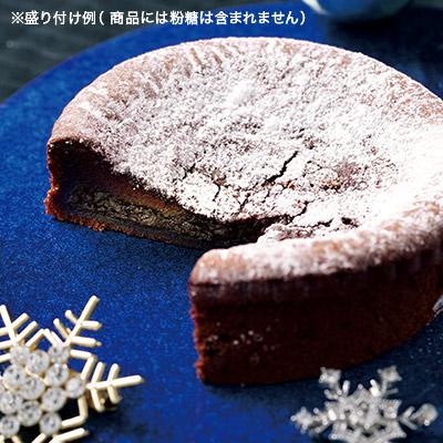 とろける冬のガトーショコラ