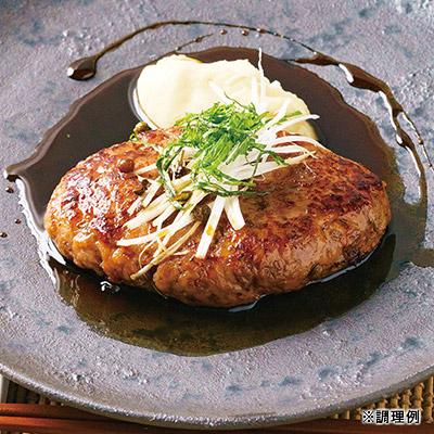 山椒(さんしょう)照り焼ハンバーグ(鴨&豚)