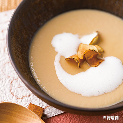 菊芋スープ