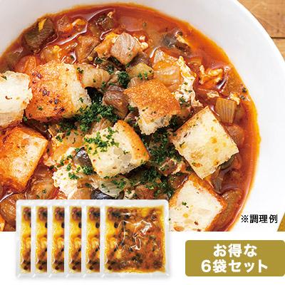 4種の豆のにんにくスープ 6袋セット