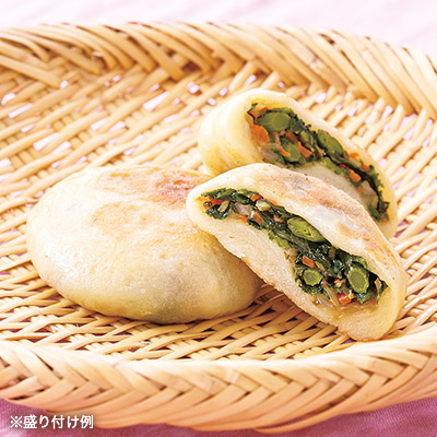 山菜点心 おやき ウドとヤチブキ