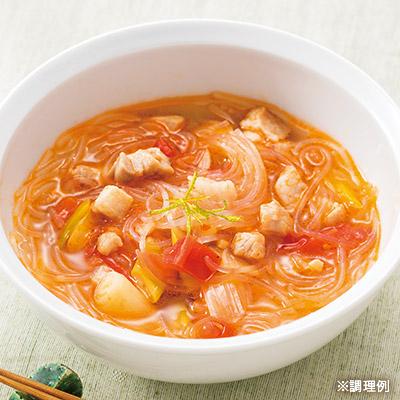 十勝どろぶた 春雨スープ