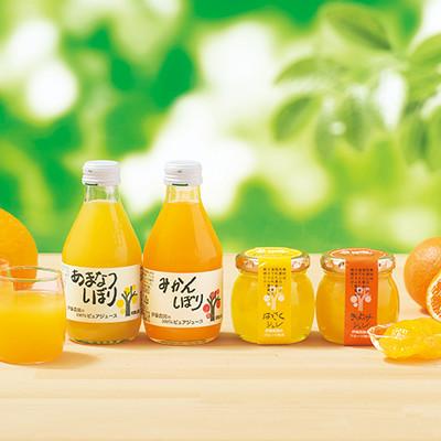 和歌山の柑橘100%ピュアジュース&ジュレ ギフトセット