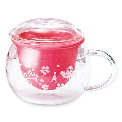 茶こしマグ モンポット・スプリングピンク