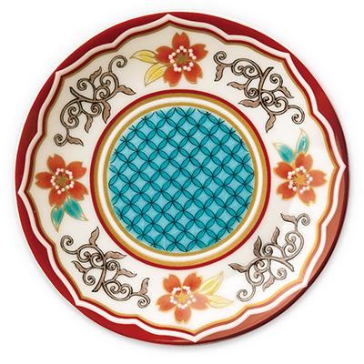 オリジナル 豆皿 桜七宝(さくらしっぽう)