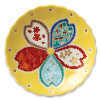 オリジナル 豆皿 桜五彩(さくらごさい)