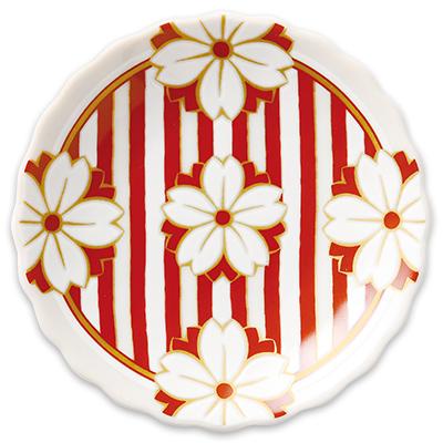 オリジナル 豆皿 桜十草(さくらとくさ)
