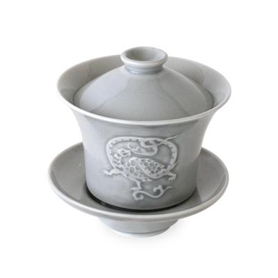 オリジナル四神蓋碗 玄武