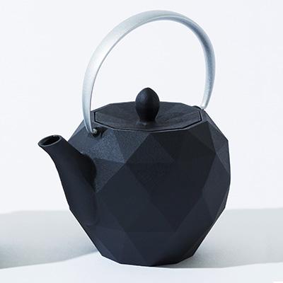 KEN OKUYAMA DESIGN 南部鉄瓶 ティーポット オリガミ シルバー
