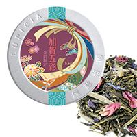 加賀五彩 50g 金沢地区限定デザインラベル缶入