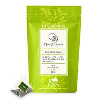 グレープフルーツ (緑茶)ティーバッグ10個パック入