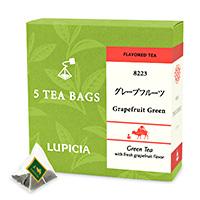 グレープフルーツ (緑茶)ティーバッグ5個BOX入