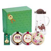 紅茶とお菓子と茶器「豊楽(ほうらく)」