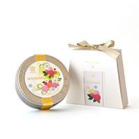 WEDDING プチ缶(ブーケ・ローズ)